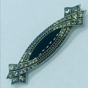 Vintage Art Deco signed Catherine Popesco brooch